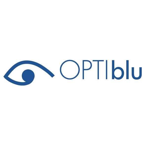 OPTIblu logo nou