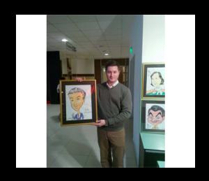 Caricaturi Florin Pietroi in Arena Mall Bacau