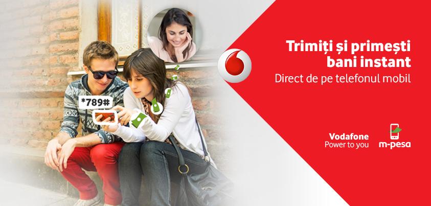 Vodafone lanseaza M-Pesa