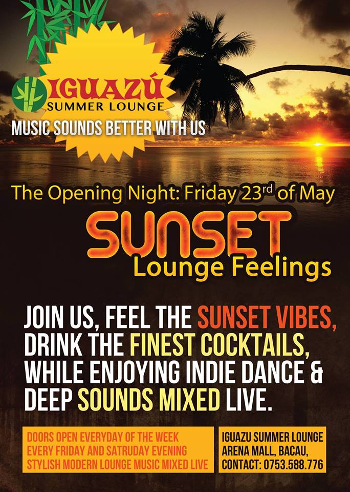 iguazu summer lounge arena mall
