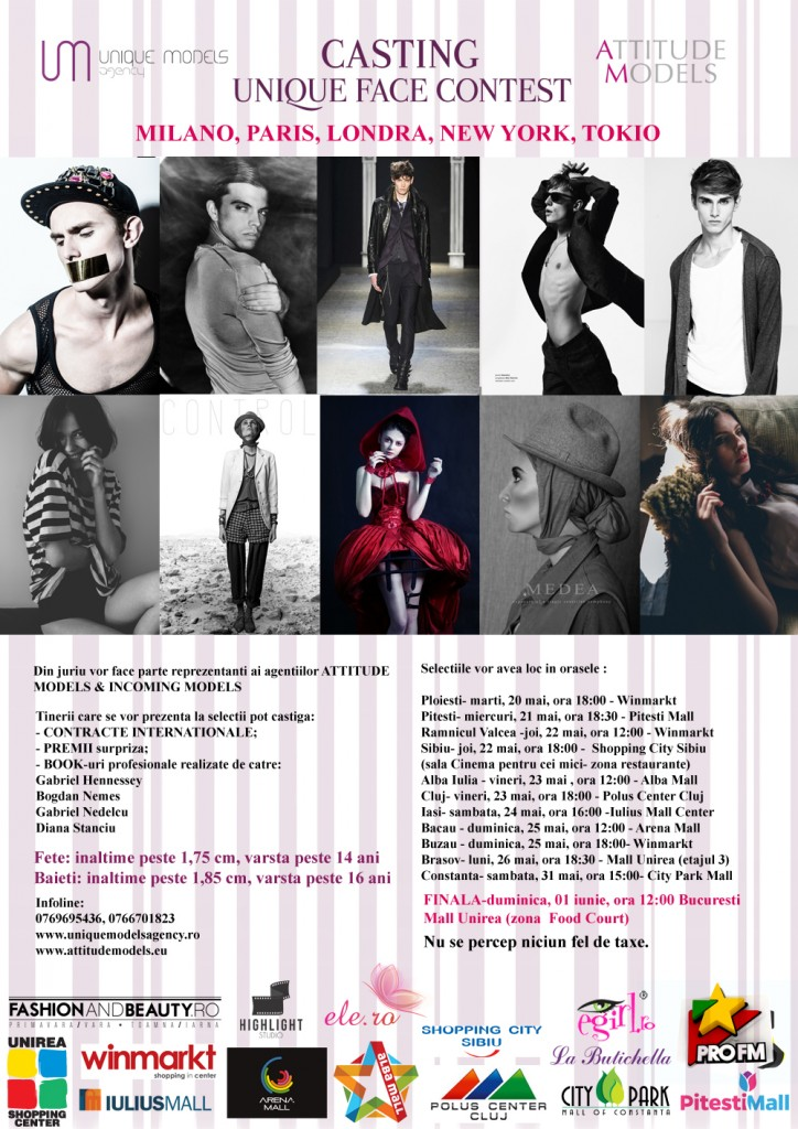 UNIQUE FACE CONTEST 2014-25.05.2014