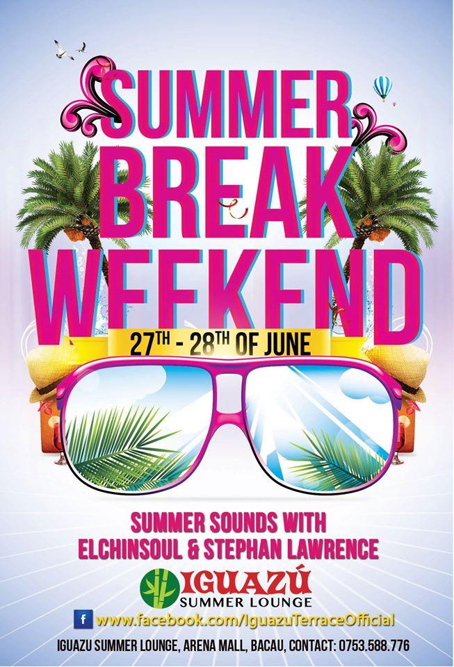 Iguazu Lounge-eveniment 27-29 iunie 2014