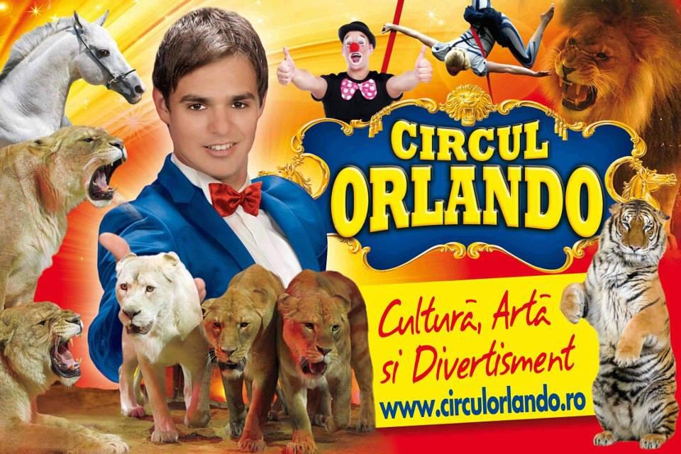 CIRCUL ORLANDO în parcarea Arena Mall Bacau 10-19.10.2014