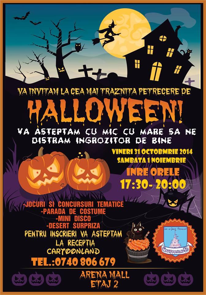 Cartoonland Arena Mall-loc de joaca copii-Halloween