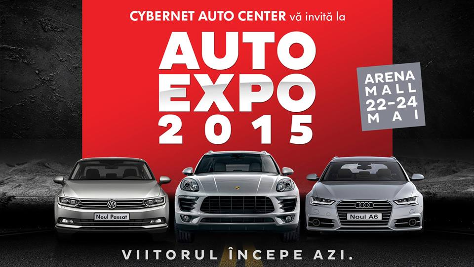 AUTO EXPO 2015 - CYBERNET AUTO CENTER 22 -24 MAI 2015