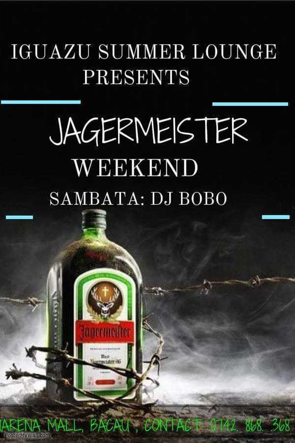 JAGERMEISTER WEEKEND @ IGUAZU SUMMER LOUNGE: 07-09 AUGUST 2015
