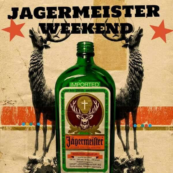 JAGERMEISTER WEEKEND @ IGUAZU TERRACE: 28-30 AUGUST 2015