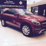 TIRIAC AUTO-LANSARE MERCEDEZ-BENZ GLE 350 d 4MATIC: 20 august 2015_SMILEY in Arena Mall