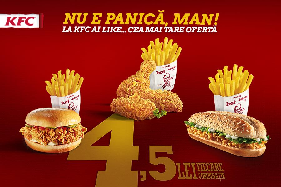 Nu e panica MAN la KFC