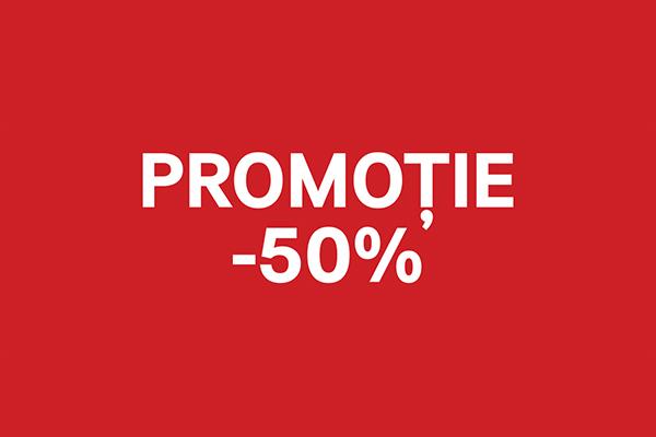 Incep promotiile la H&M 50% Arena Mall