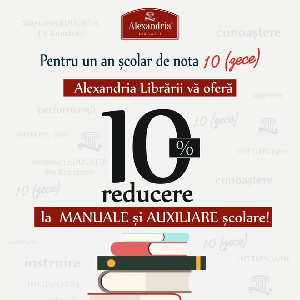 Alexandria-Librarii-oferte-manuale-scolare-septembrie-octombrie-2016
