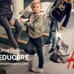 PROMOTIILE LUNII SEPTEMBRIE 2016-CUPON H&M