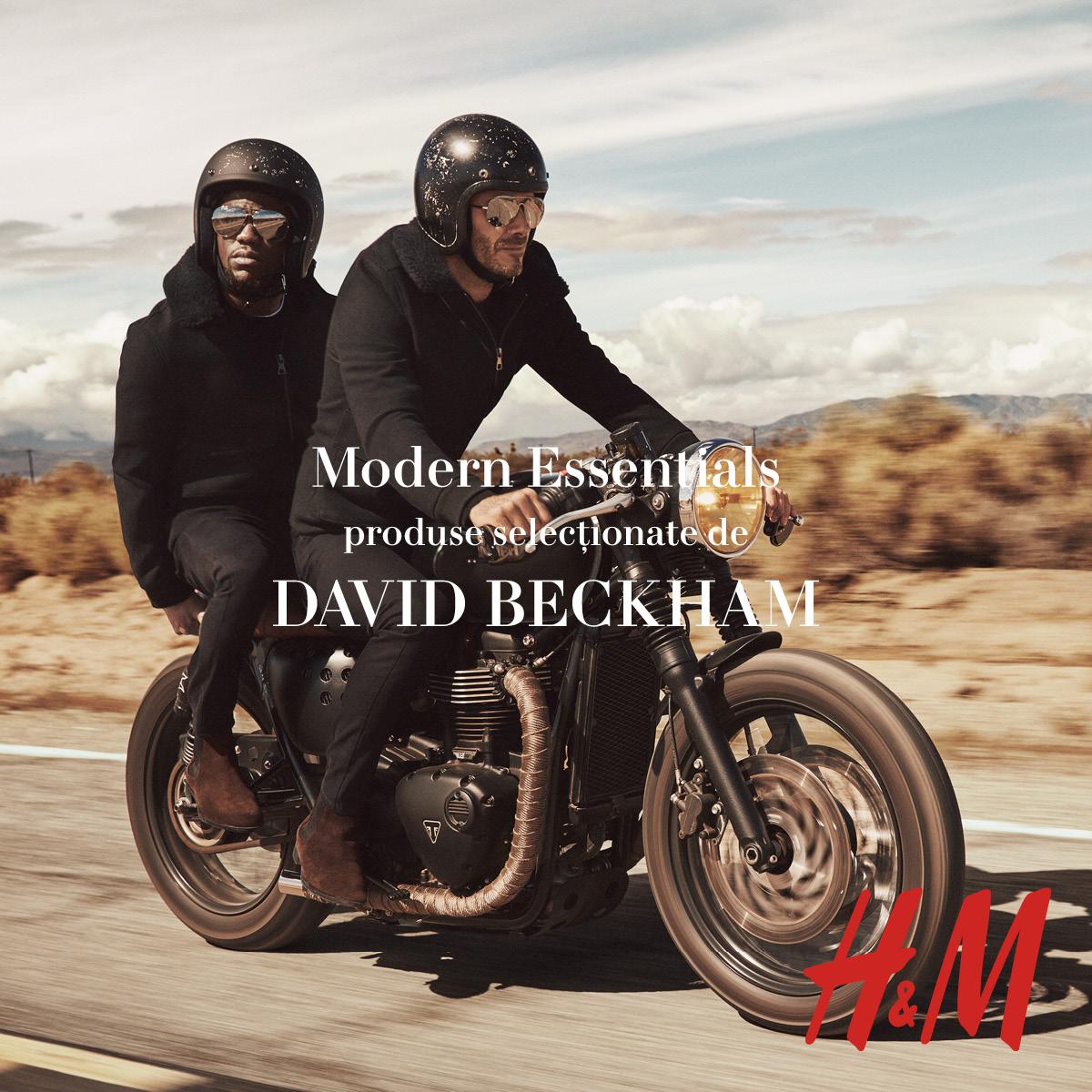 Modern Essentials David Beckham Kevin Hart H&M october 2016