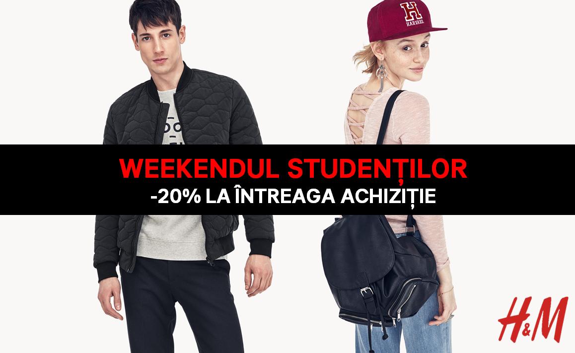 H&M promo student