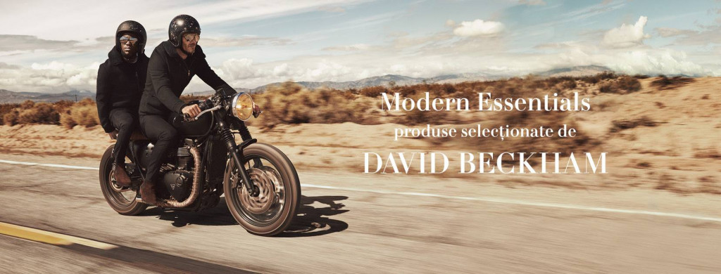 Modern Essentials with David Beckham, Kevin Hart , H&M 2016