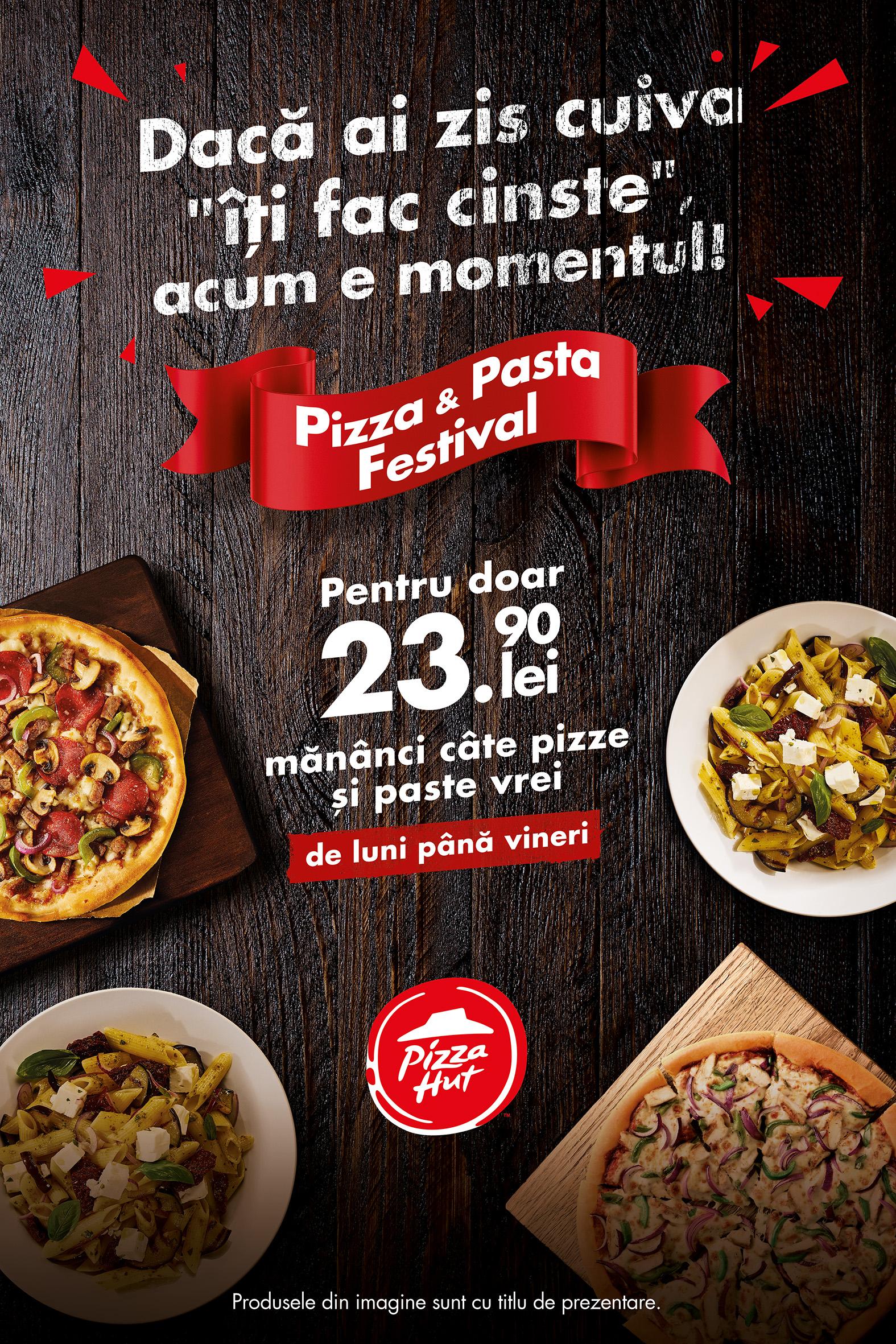 Pizza Hut promo ianuarie-februarie-martie-2017