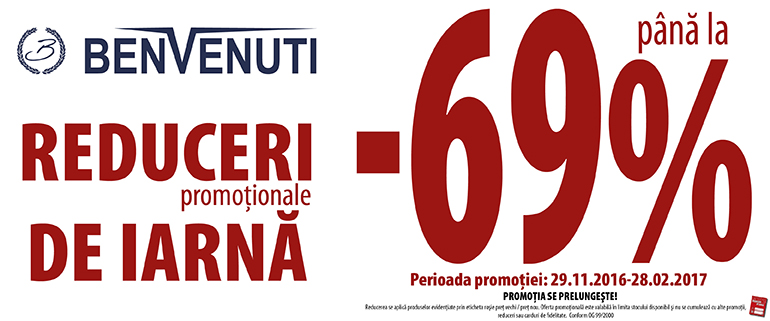 benvenuti WINTER SALES
