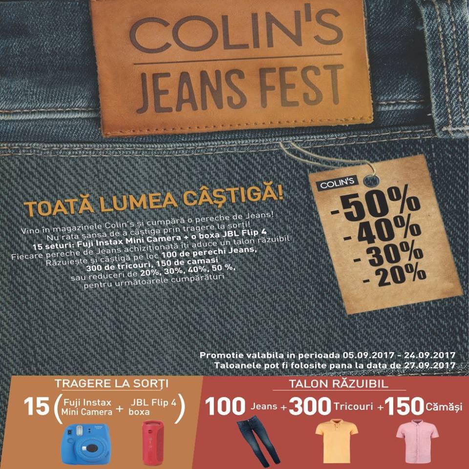 Colin's jeans fest