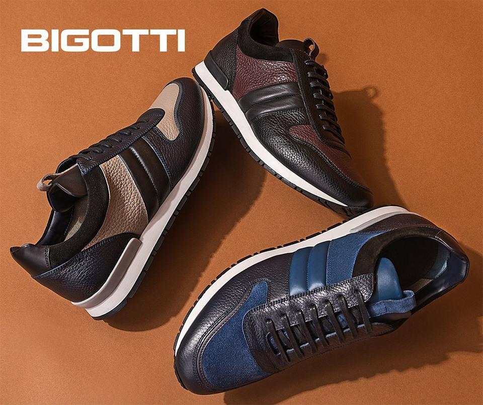 sneakersi Bigotti