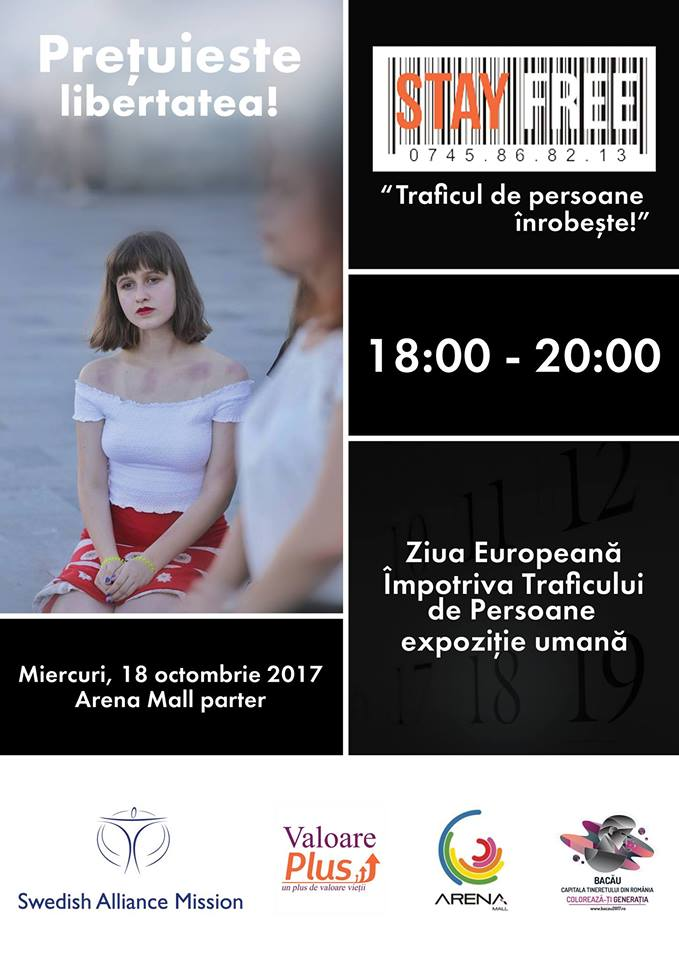 Pastreaza-ti libertatea-Arena Mall-eveniment-octombrie-2017