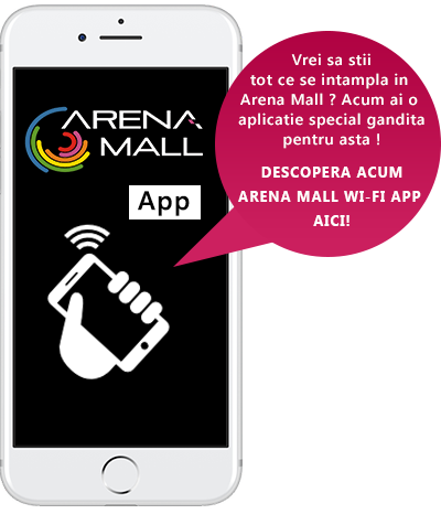 Arena Mall Free WI-FI App