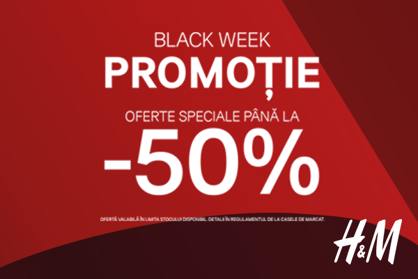 Pre black friday Arena Mall H&M