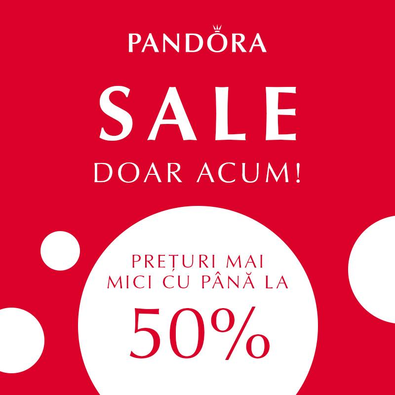 Promotie decembrie 2017 Pandora Sabrini
