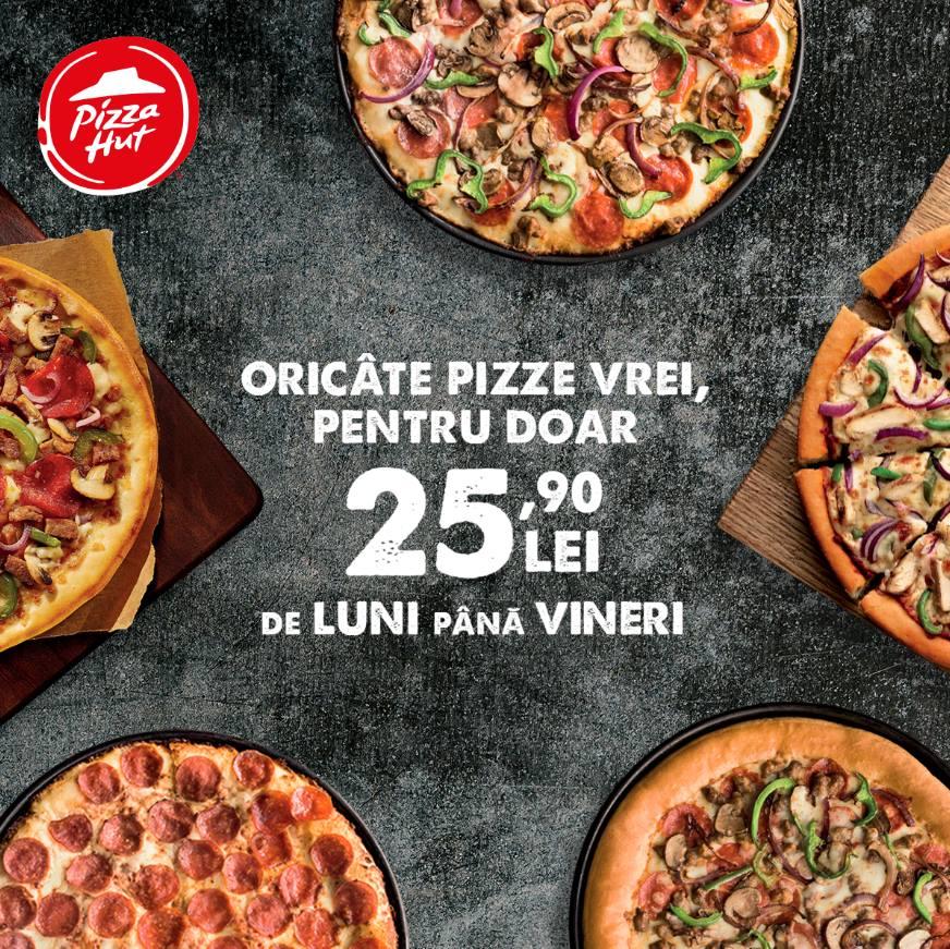Pizza Festival la Pizza Hut