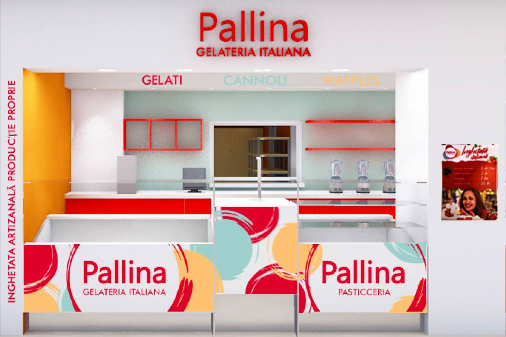 Pallina Gelateria in Arena Mall inaugurare