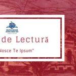 "Club de lectura ""Nosce Te Ipsum"" @Biblioteca Judeteana ""C. Sturdza"" Bacau"