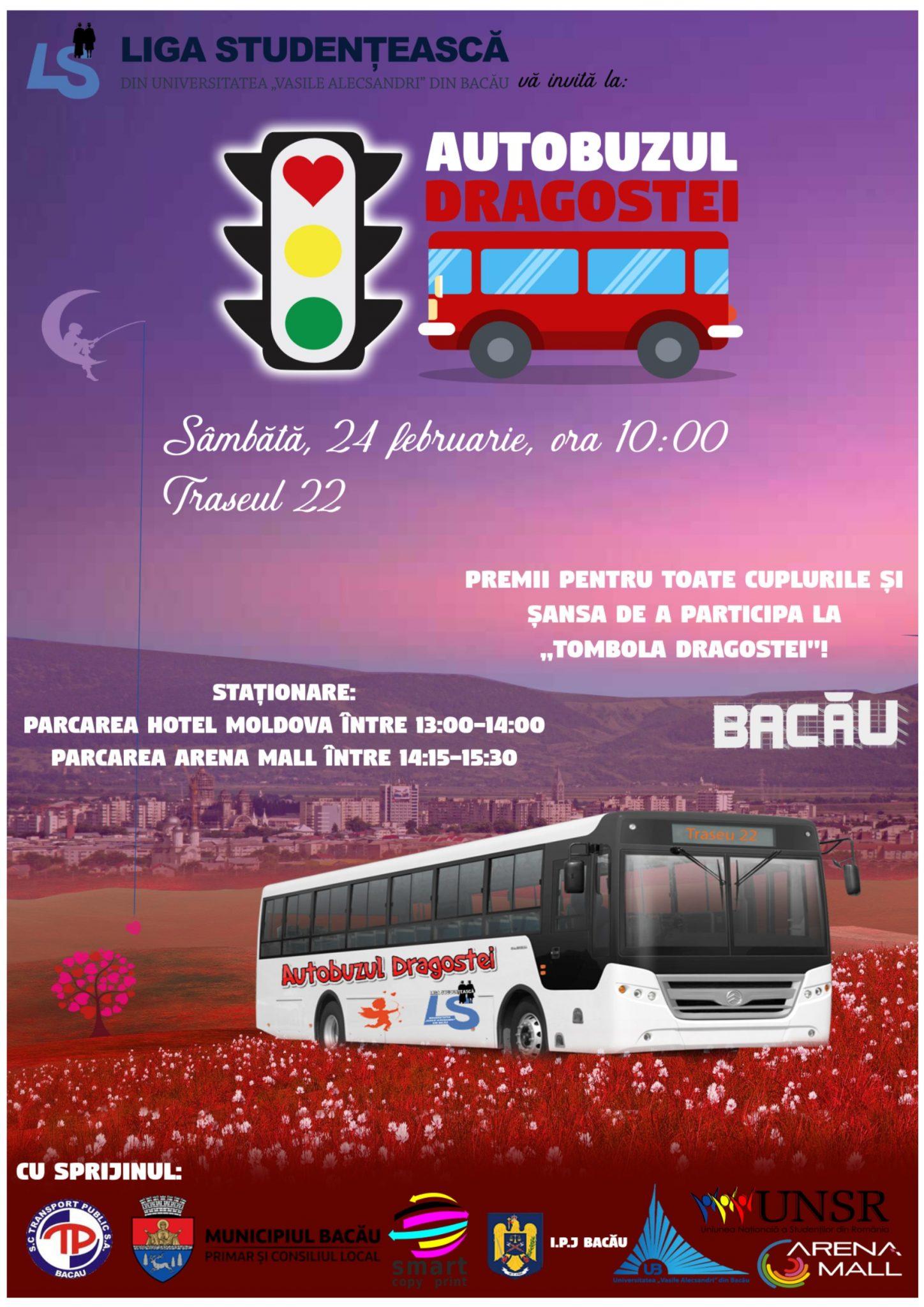 Autobuzul-Dragostei-Liga-Studenteasca-bacau-Universitatea-Vasile-Alecsandri-24-februarie-Ziua-indragostitilor-evenimente-dragobere-februarie-2018-Arena-Mall
