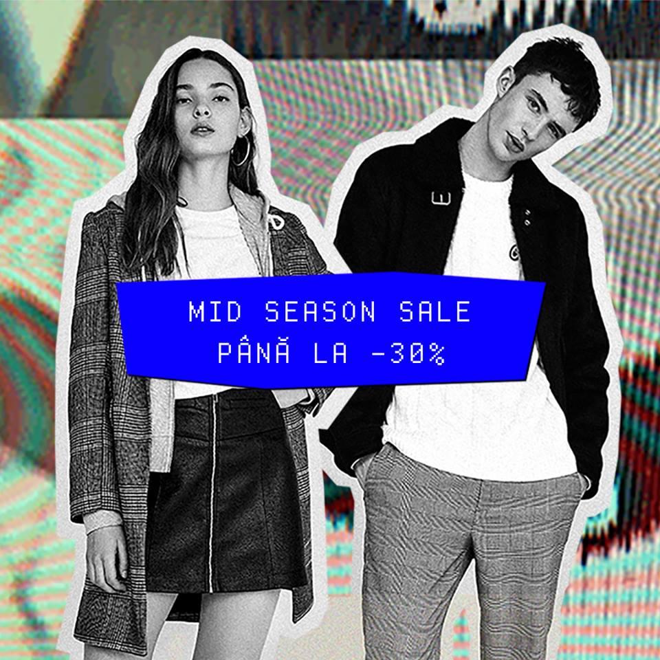Mid Season Sale Bershka