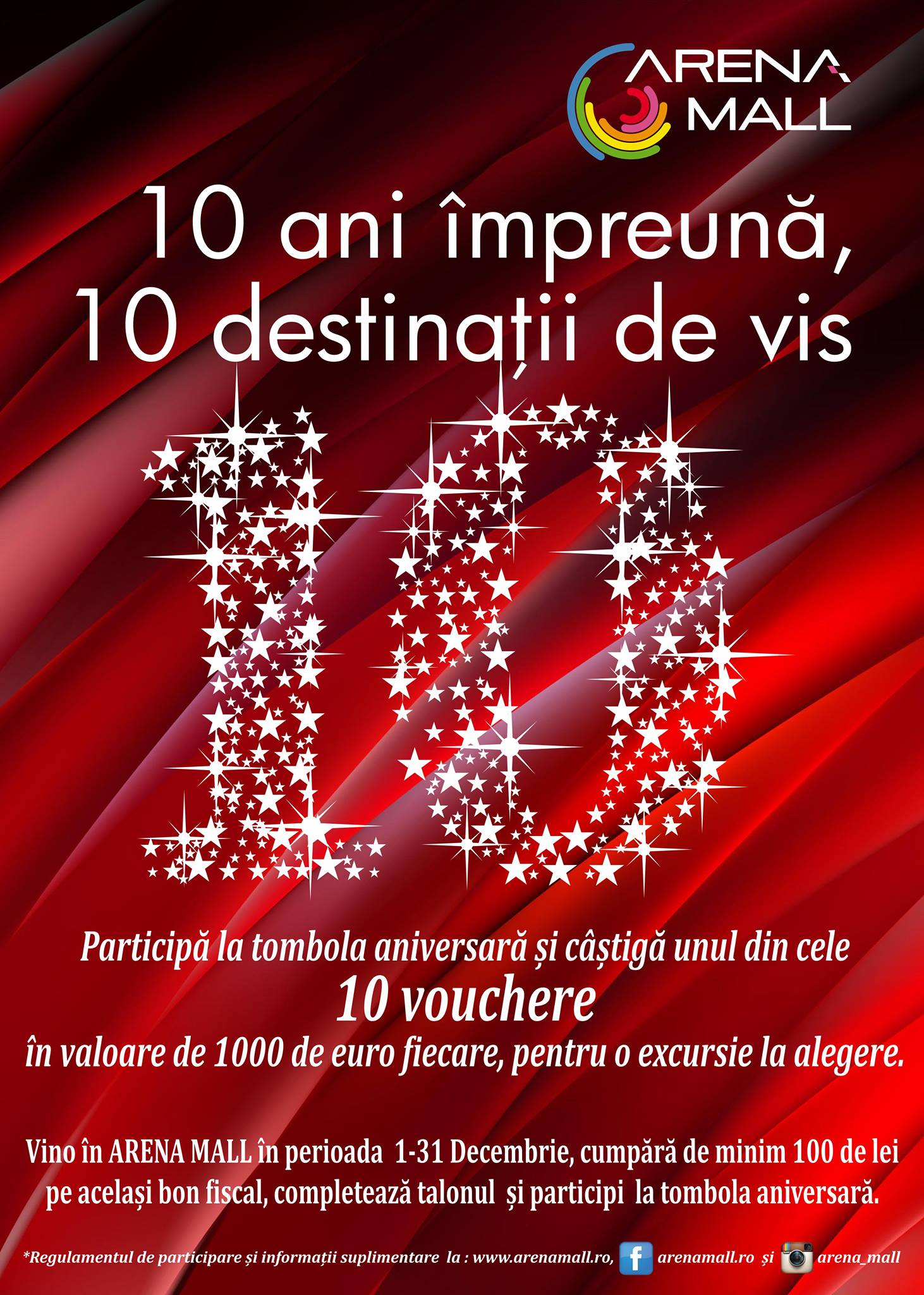 Tombola-aniversara-10-ani-de-arena-mall-10-destinatii-de-vis-vouchere-tui-travel-center-10-ani-arena-mall-bacau