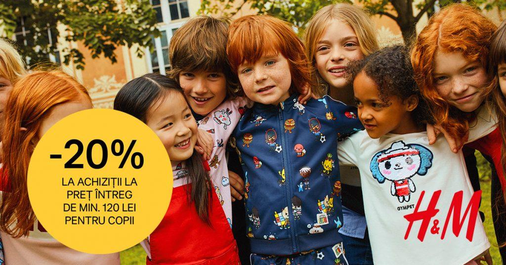promotie-h&m-copii-kids-20%-reducere-septembrie-2019