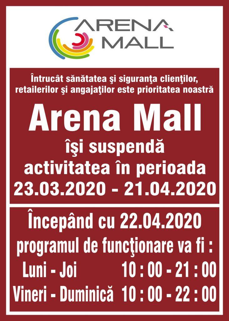 program-de-functionare-arena-mall-bacau-centre-coerciale-coronavirus-program-atipic-temporar-masuri-de-preventie-covid-19
